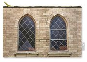 Windows Within The Catholic Walls Carry-all Pouch