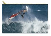 Windsurfer Hanging In Carry-all Pouch