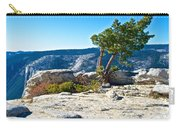 Windswept Tree On Top Of Sentinel Dome In Yosemite Np-ca Carry-all Pouch
