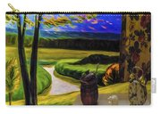 Windy Autumn With Still Life 05 Carry-all Pouch