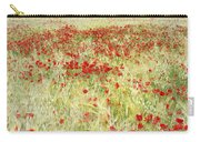 Windy Poppies At The Fields Carry-all Pouch