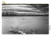 Windy Sunset Monochrome Carry-all Pouch