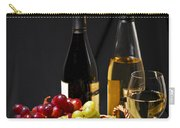 Wine And Grapes Carry-all Pouch by Elena Elisseeva