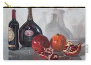 Wine And Pomegranates Carry-all Pouch