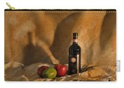 Wine Apples And Cheese Carry-all Pouch