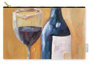 Wine Bottle Still Life Carry-all Pouch by Todd Bandy