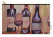 Wine Bottle Trio Carry-all Pouch