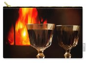 Wine By The Fire Carry-all Pouch