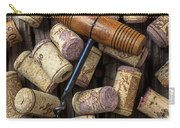 Wine Corks Celebration Carry-all Pouch