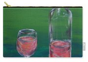 Wine Glass And Bottle Carry-all Pouch