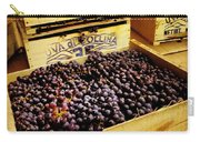 Wine Grapes Carry-all Pouch