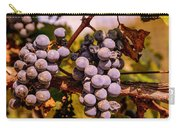 Wine Grapes On The Vine Carry-all Pouch