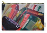 Wine Pour IIi Carry-all Pouch by Donna Tuten