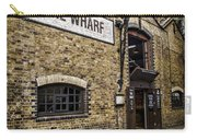Wine Wharf Carry-all Pouch by Heather Applegate