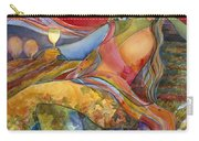 Wine Woman And Song Carry-all Pouch by Jen Norton