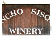 Winery Sign Carry-all Pouch