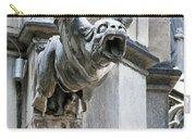 Winged Gargoyle Duomo Di Milano Italia Carry-all Pouch