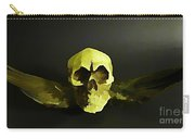Winged Skull Two Carry-all Pouch