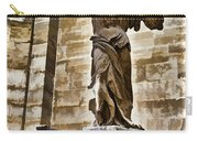 Winged Victory - Louvre Carry-all Pouch by Jon Berghoff