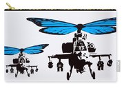 Wingin It - Blue Carry-all Pouch