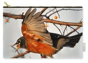 Wings Of A Robin Carry-all Pouch