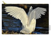 Wings Of A White Duck Carry-all Pouch