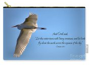 Wings Of Faith Carry-all Pouch