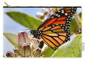 Wings Up Monarch Butterfly By Diana Sainz Carry-all Pouch