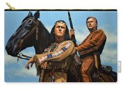 Winnetou And Old Shatterhand Carry-all Pouch