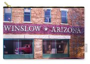 Winslow Arizona 2 Carry-all Pouch