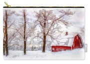 Winter Arrives Watercolor Carry-all Pouch