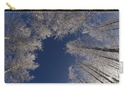 Winter Aspen Canopy Yellowstone Carry-all Pouch