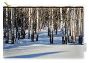 Winter Aspens Carry-all Pouch
