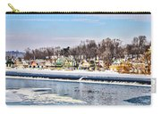 Winter At Boathouse Row In Philadelphia Carry-all Pouch