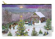Winter At Campton Farm Carry-all Pouch