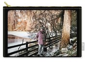 Winter At Frozen Lochside Carry-all Pouch