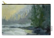 Winter At Gold Creek Carry-all Pouch