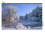 Winter At Lake Marmo Carry-all Pouch