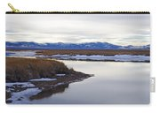 Winter At Ruby Marsh Carry-all Pouch