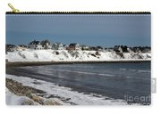 Winter At The Coast Carry-all Pouch