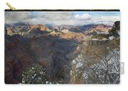 Winter At The Grand Canyon Carry-all Pouch