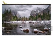 Winter At Valley View Carry-all Pouch