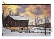 Winter Barn - Paint Carry-all Pouch