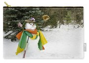 Winter Baseball Ball Gown  Carry-all Pouch