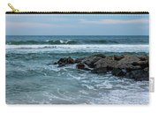 Winter Beach Lavallette New Jersey  Carry-all Pouch