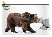 Winter Bear Walk Carry-all Pouch