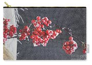 Winter Berries II Carry-all Pouch