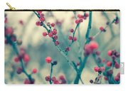 Winter Berries Carry-all Pouch
