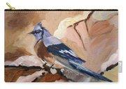 Winter Bird Carry-all Pouch