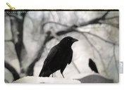 Winter Blackbirds Carry-all Pouch